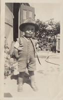 Raymond Magrath @ 10 Florence Street Junee. He couldn't wait to start school.