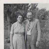 Edna and Bert Magrath at 10 Florence st Junee