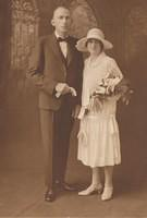 Jim Downie and Gwen Justice - Wedding Photo